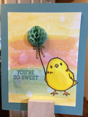 Your So Sweet - Stampin' Up - Honeycomb Happiness