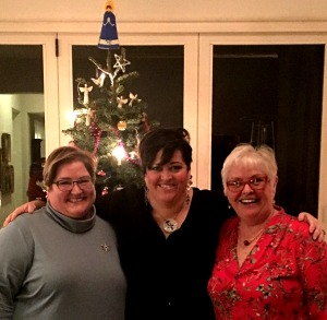 Kathleen and family enjoying Christmas