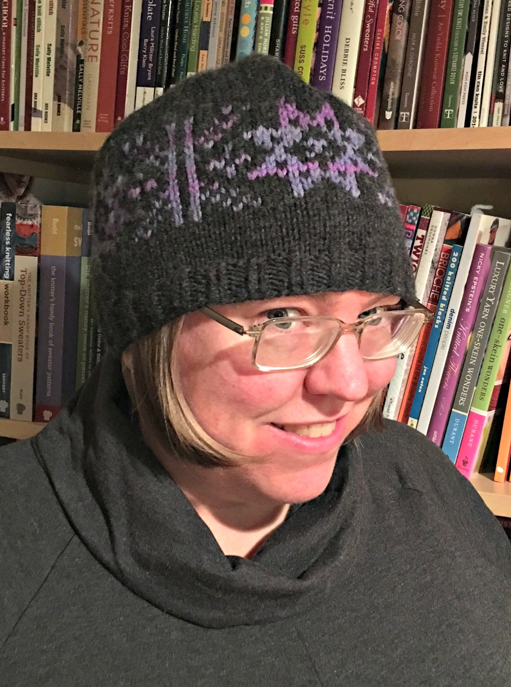 flurries free hat knitting pattern