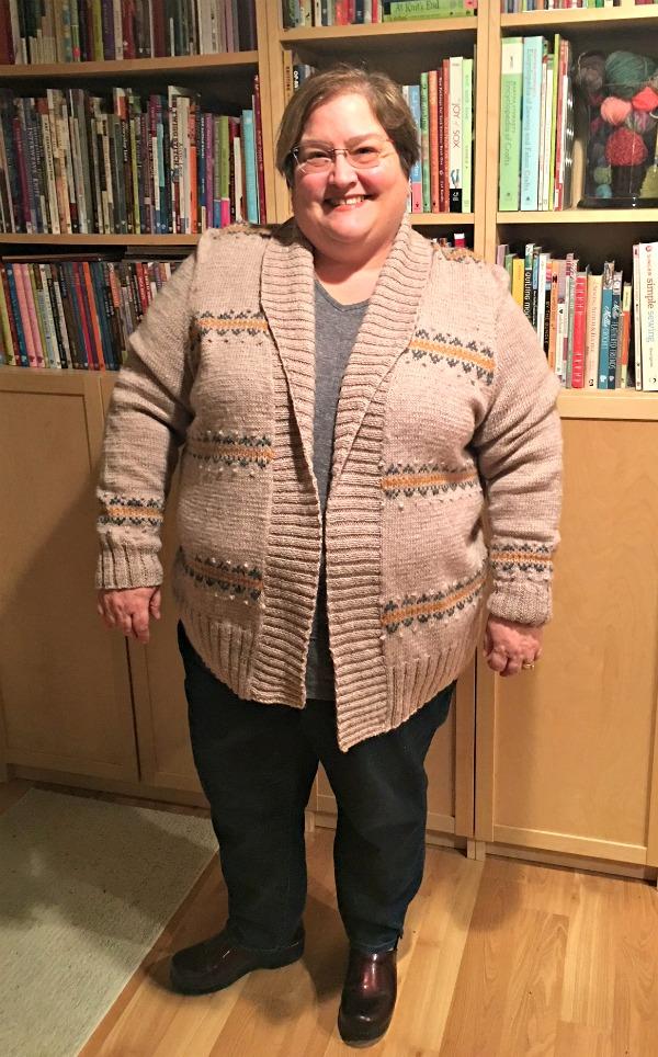 Zuni Cardigan Knitting Pattern